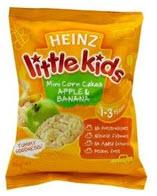 Heinz Little Kids Mini Corn Cakes Apple & Banana