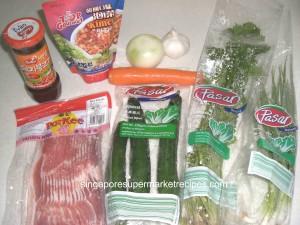 Korean ingredients
