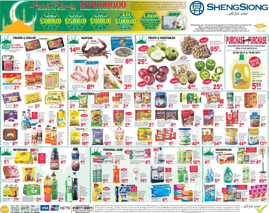 Sheng Siong Supermarket Promotions Week 35