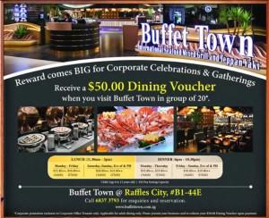 buffet town