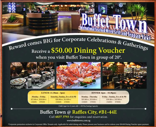 Best Buffet in Town! Come enjoy our delicious buffet with fresh ingredients, great price and friendly service.
