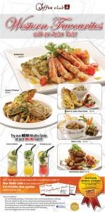 coffee club asian western menu promo