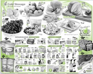 cold storage promo