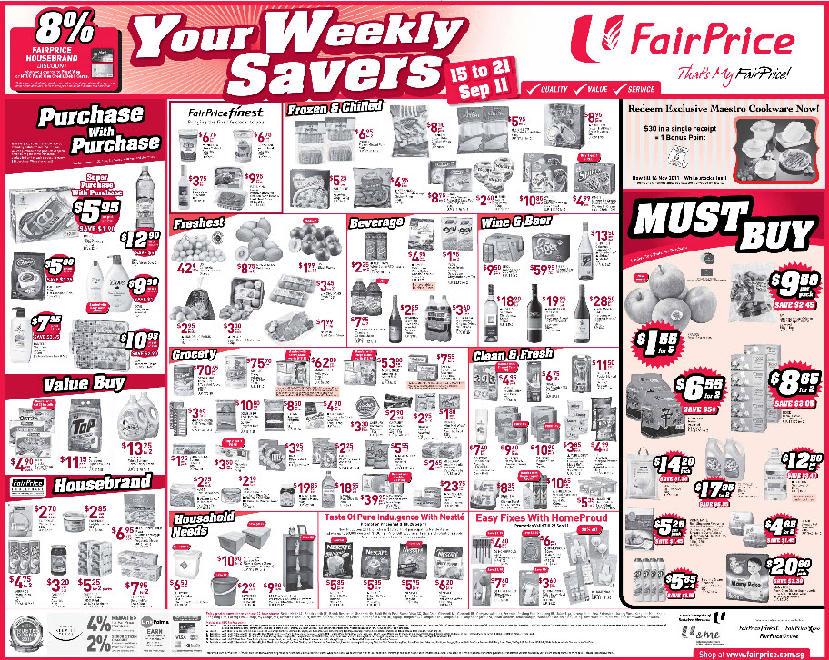 Supermarket coupons singapore