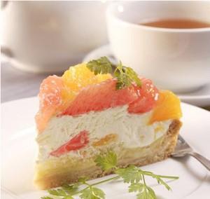 fruit paradise slice cake