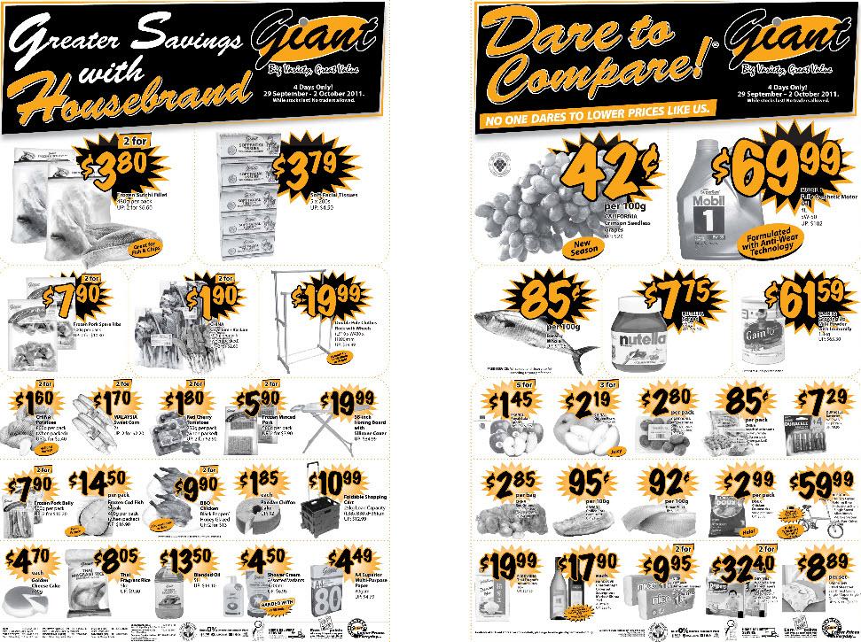 Giant Supermarket Weekly Promotion Week 39