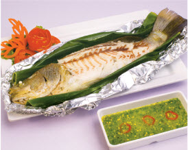 grill seabass