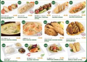 pasta de waraku special menu 2