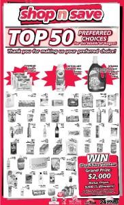 shop n save top 50