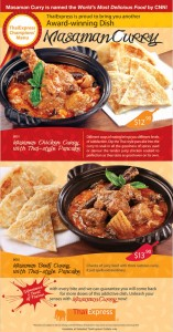 thai express curry dishes