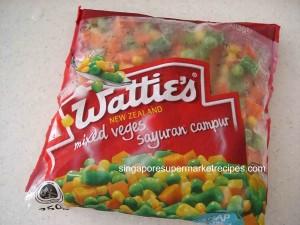 watties mixed veges