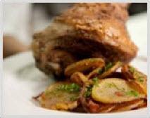 Bacchus pork knuckle