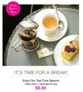 Bakerzin Tea Time Promotion