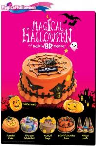Baskin Robbins Halloween Promotions