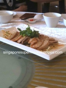 Canton Recipe House Abalone Appetizer