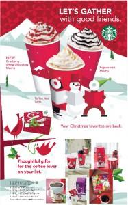 Christmas at Starbucks