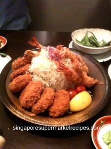 Deep Fried Hire & Shrimp