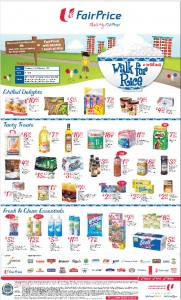 Fairprice Supermarket Walk for Rice Promotions