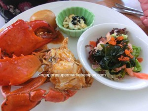 Fisherman Market Chilli Crab & Salad