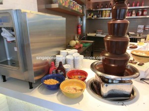 Fisherman Market Chocolate Fountain