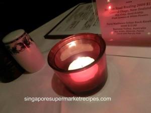L Operetta Cafe Candles