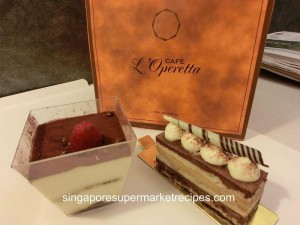 L Operetta Cafe Desserts