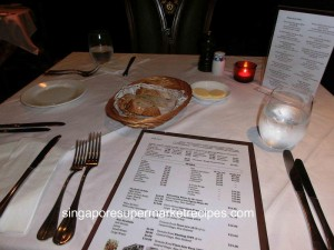 L Operetta Cafe Table Setting