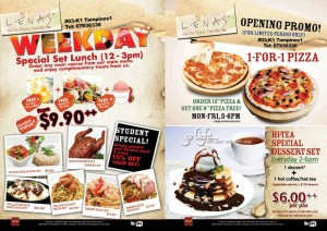 Lenas Tampines One Opening Promotions