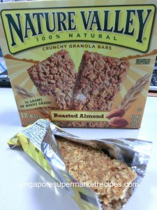 Nature Valley Cereal Bar Open Package