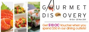 Orchard Central Gourmet Discovery Promotions pics