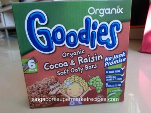 Organic Goodies Cereal Bar for Kids