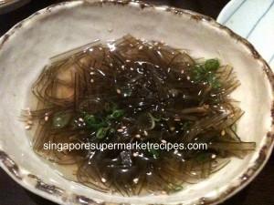 Seaweed Sidedish