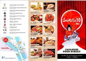 Shokutsu 10 Restaurant Listing