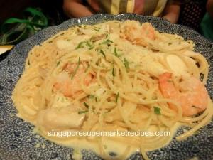 Yomenya Goemon 313@ Somerset Crab Shrimp Scallop