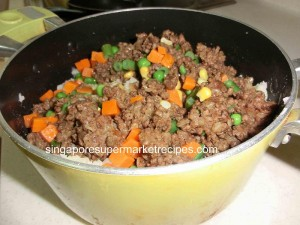 coroquette curry beef with potato