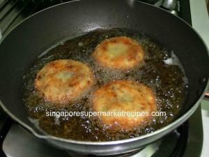 coroquette frying