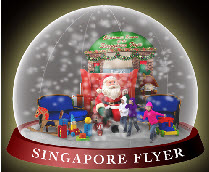 Christmas Snow Picture Singapore on There Will Also Be A Giant Christmas Snow Globe At The Singapore Flyer
