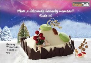 Breadtalk Log Cakes Snowy Mountain