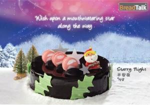 Breadtalk Log Cakes Starry Night