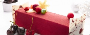 Carlton Red Cherry Log Cake