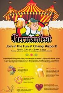 Changi Airport German Fest