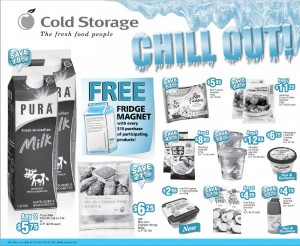 Cold Storage Supermarket Weekly Promotion Chill Out