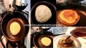 Daiso Hotcakes cooking procedures