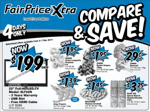 FairPrice Xtra  Supermarket Weekly Promotion