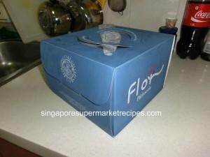 Flor Cake cake box