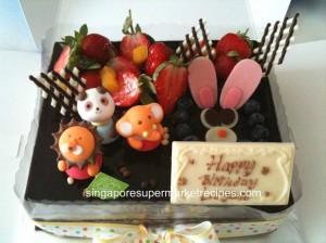 Flor Cake cocoa