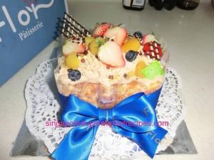Flor Cake mont blanc cake