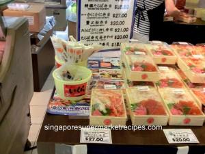 Hokkaido Fair 2011 Meidiya Crab Sushi