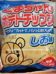 Hokkaido Fair 2011 Meidiya Mild Salt Chips