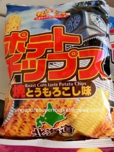 Hokkaido Fair 2011 Meidiya Roasted Corn Flavor Chips